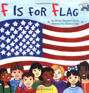 Storytime with the Frist: F is for Flag