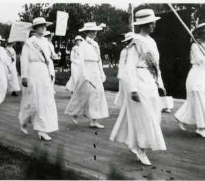 Woman's Suffrage Walking Tour