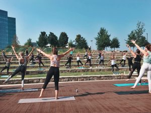 FREE Barre3 Summer Park Series