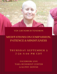 Meditations on Compassion, Patience & Mindfulness
