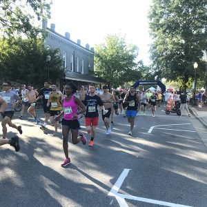 Mercy Community Healthcare's Franklin Classic Race