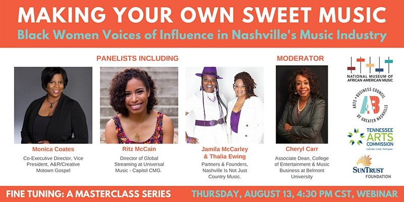 Making Your Own Sweet Music: Black Women Voices of Influence in Nashville's Music Industry