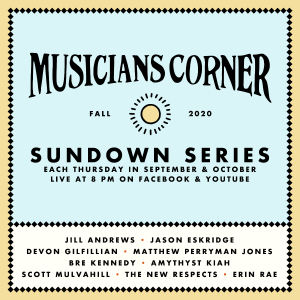 Musicians Corner's Sundown Series: Matthew Perryman Jones