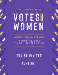 Votes for Women: The Legacy of the 19th Amendment
