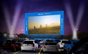 Walmart Drive-In Theater: Back to the Future