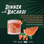 A Dinner with Bacardi