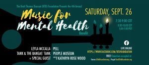 Music for Mental Health Benefit Concert