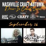 Nashville Craft Drive-in Concerts: Marshall Chapman & Will Kimbrough