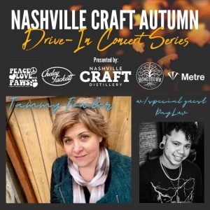Nashville Craft Drive-in Concerts: Tammy Fowler Album Release w/special guest DayLuv