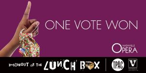 InsideOut of the Lunch Box: One Vote Won