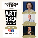 Artober Talks: Funding for the Arts
