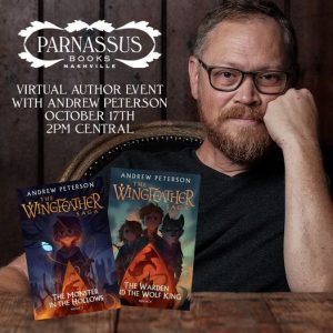 Virtual event with author Andrew Peterson