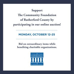 The Community Foundation of Rutherford County Auct...