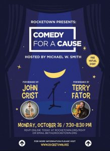 ONLINE Benefit: Comedy for a Cause