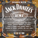A Dinner with Jack Daniel's