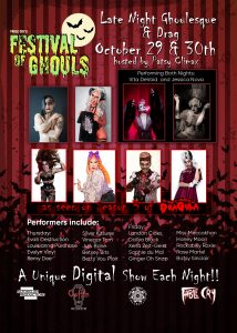 Festival of Ghouls Late Night Ghoulesque and Drag ...