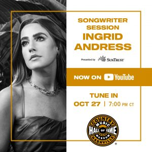 Songwriter Session: Ingrid Andress
