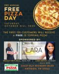 3rd Annual Free Pizza Day