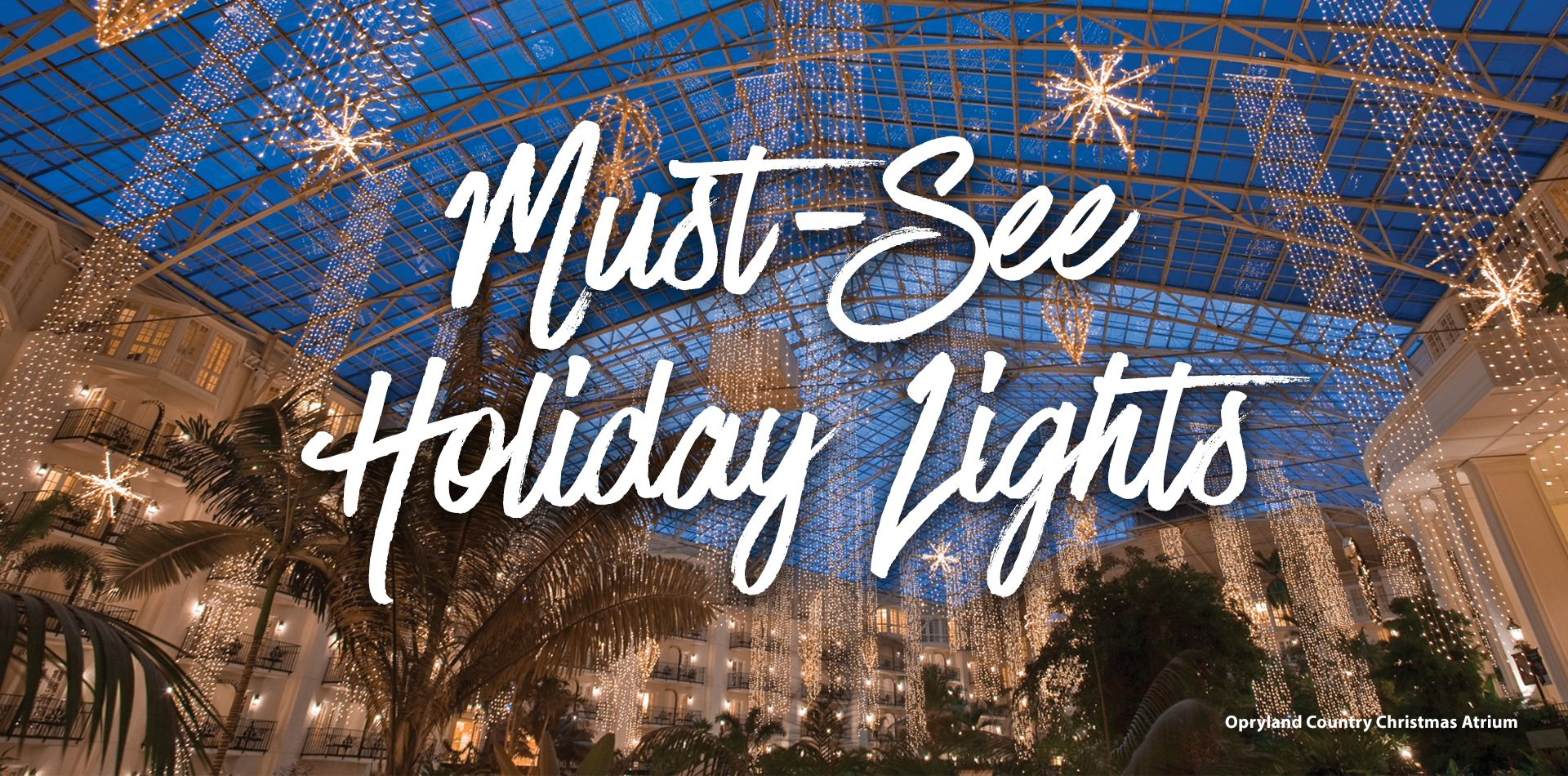 Must-See Holiday Lights