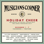 Musicians Corner's Holiday Cheer: The Saint Johns and Robby Hecht & Oliver the Crow