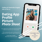 Dating App Picture Photo Shoot