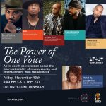 """""""Power of One Voice"""" Virtual Discussion Panel"""