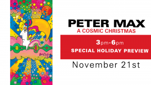 Peter Max: A Cosmic Christmas Special Holiday Preview
