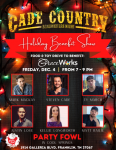 Cade Country Holiday Songwriter Benefit Show