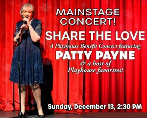 Patty Payne Share the Love Concert