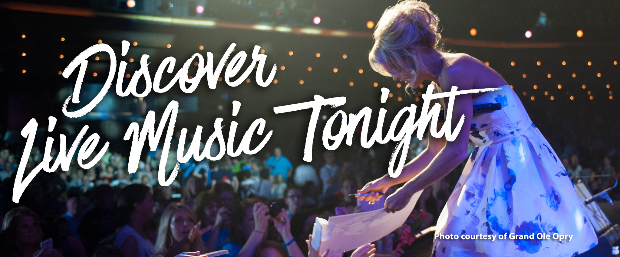 Discover Live Music Tonight