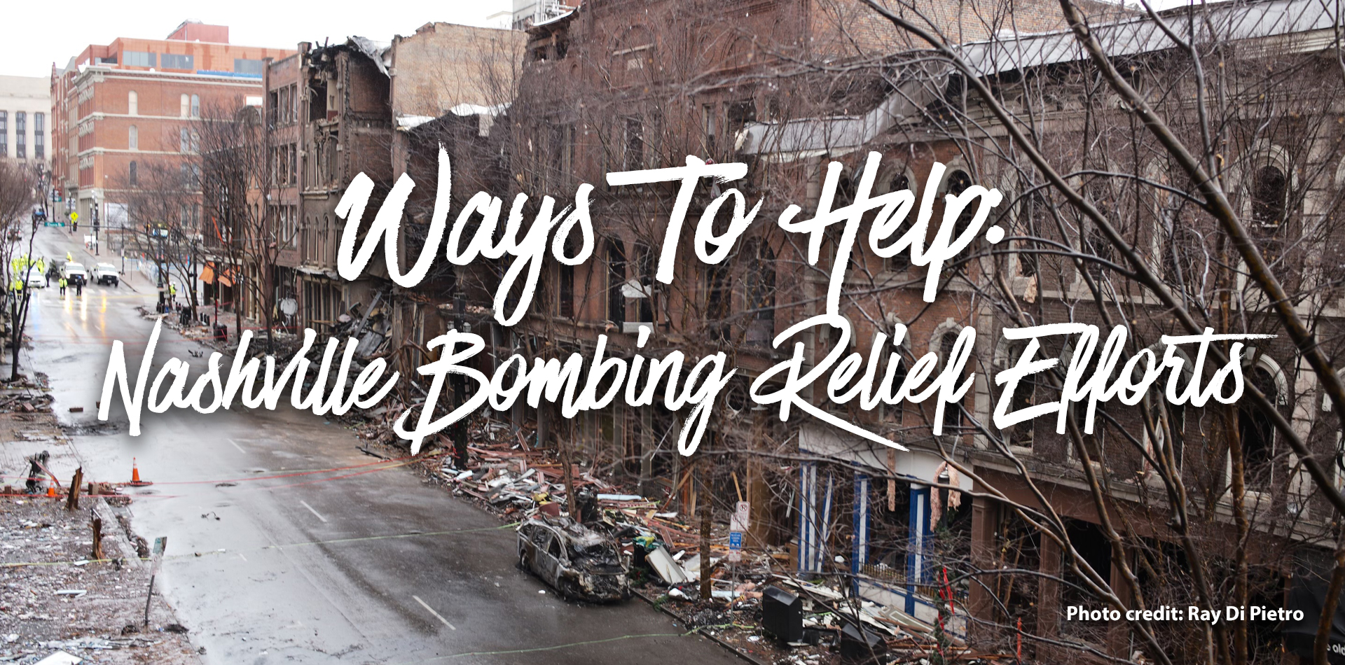 Ways to Help Nashville Bombing