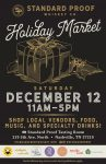 Standard Proof Whiskey Co. Holiday Market