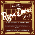 Old Forester Repeal Dinner