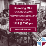 Collaborates Call: Honoring MLK