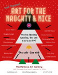 2nd Annual Art for the Naughty & Nice Group Show