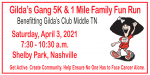 Gilda's Gang 5K and 1 Mile Family Fun Run