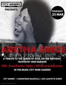 Aretha Sings: A Tribute to the Queen of Soul