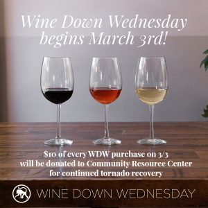 Wine Down Wednesday: A Community Resource Center Benefit