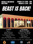 BEAST IS BACK! (Socially Distanced Bar Hang)