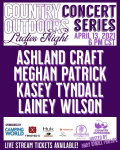 Country Outdoors Concert Series:  Lainey Wilson, M...
