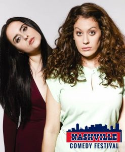 Corinne Fisher & Krystyna Hutchinson of GUYS WE F@#KED