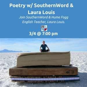 Collaborates Call: Poetry w/ SouthernWord & Laura Louis