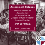 Collaborates Call: Assessment Retakes