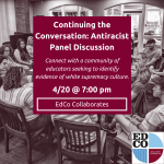Collaborates Call: Antiracist Panel Discussion