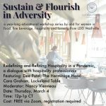 Redefining and Refining Hospitality in a Pandemic a dialogue with hospitality professionals