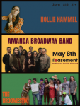 Amanda Broadway Band, Hollie Hammel, The Broomestix