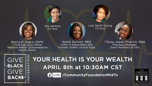 Give Black, Give Back: Your Health Is Your Wealth