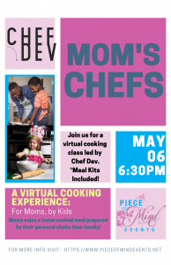 Mom's Chefs: A Virtual Cooking Experience