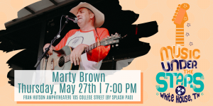 Music Under the Stars with Marty Brown