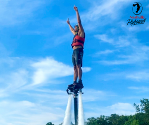 FlyBoard at Percy Priest Lake